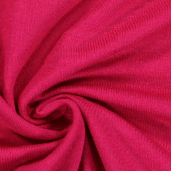 Jersey viscose léger – rose sexy