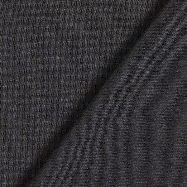 Jersey viscose léger – noir
