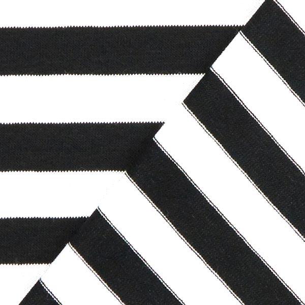 Jersey Drop rayures 1 - noir
