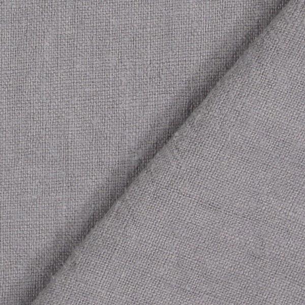 Leinen Stoff vorgewaschen – grau