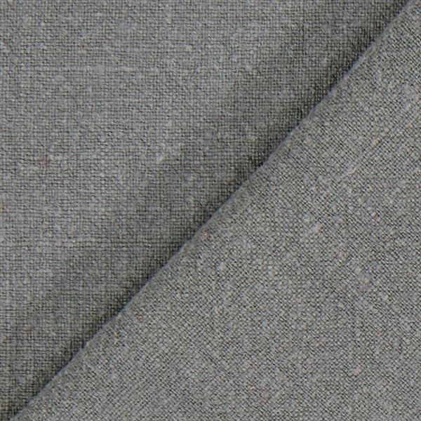 Tissu de lin prélavé – gris schiste