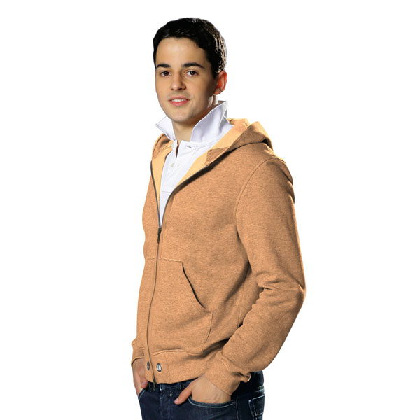 Sweat-shirt lisse – orange