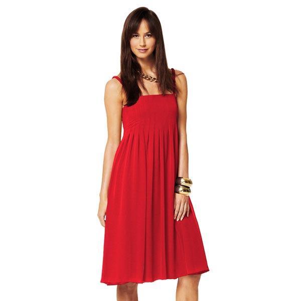 Jersey viscose Médium – rouge vif