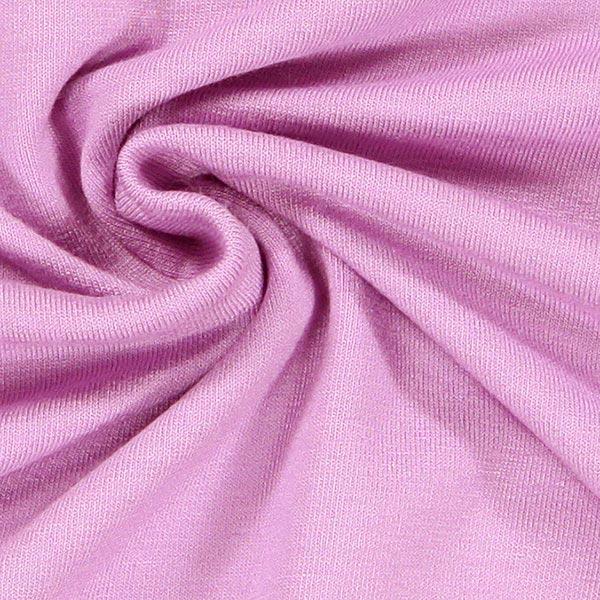 Jersey viscose Médium – violet pastel