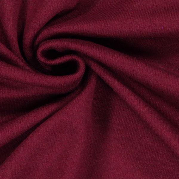 Jersey viscose Médium – rouge bordeaux