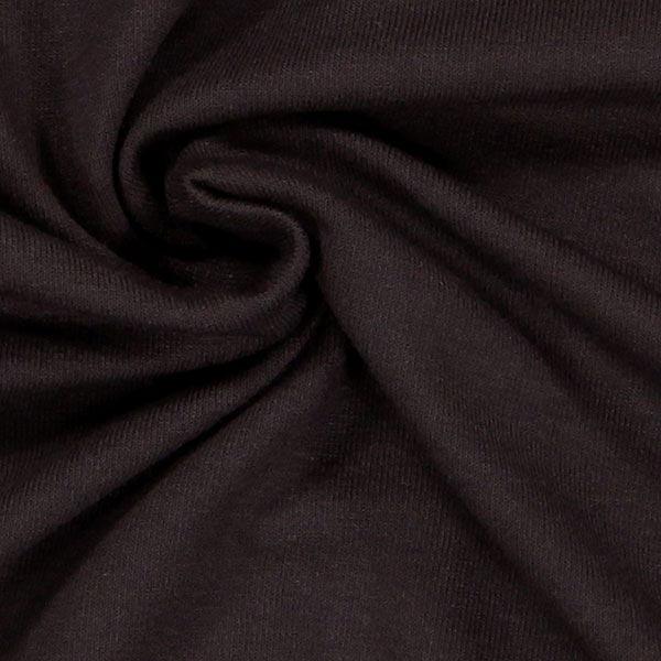Jersey viscose Médium – marron foncé