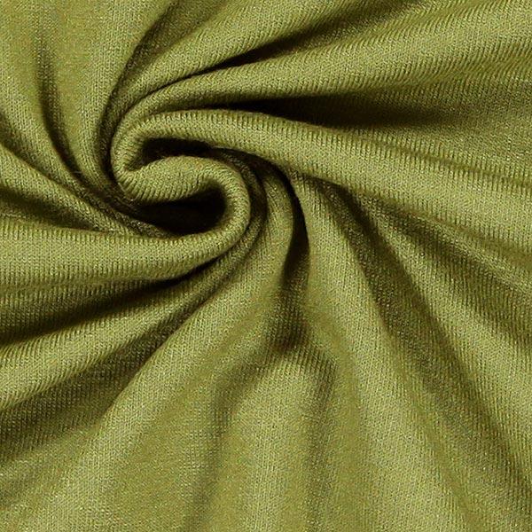 Jersey viscose Médium – olive clair