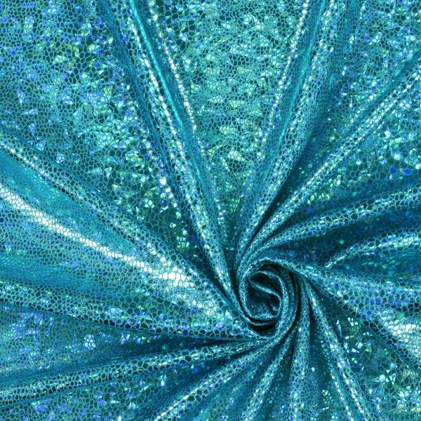 Snake Foil – bleu turquoise