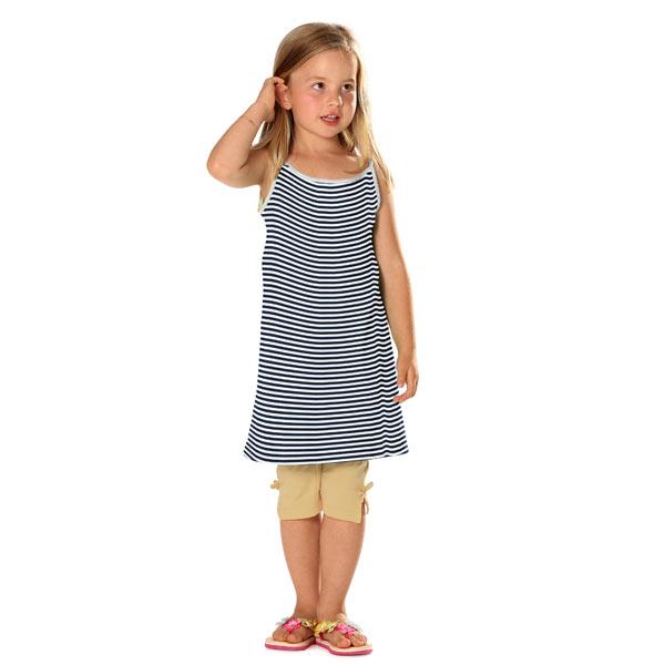 Jersey Rayures étroites – bleu marine/blanc