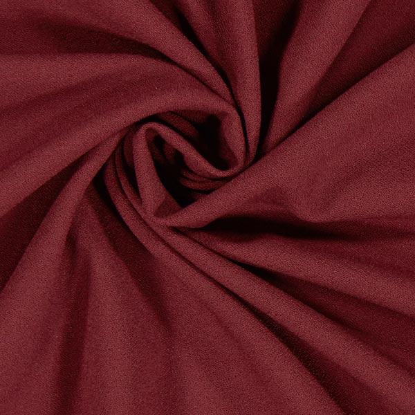 Crêpe Georgette Moss – rouge bordeaux