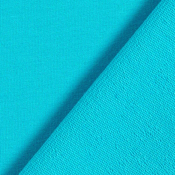 French Terry – bleu turquoise