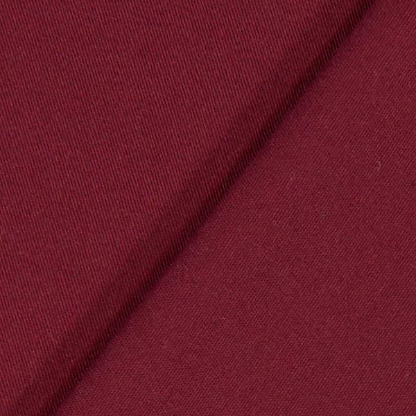 Tissu croisé en coton stretch – rouge bordeaux