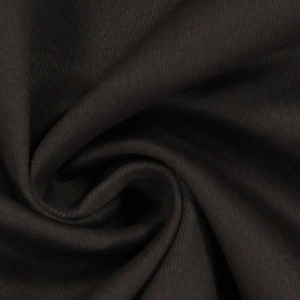 Tissu croisé en coton stretch – marron foncé