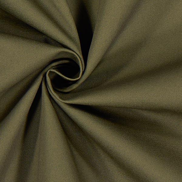 Tissu croisé en coton – olive