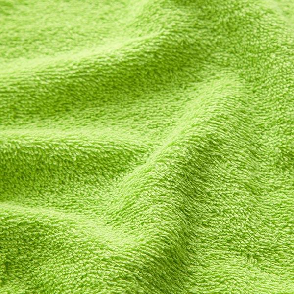 Frotteestoff – apfelgrün