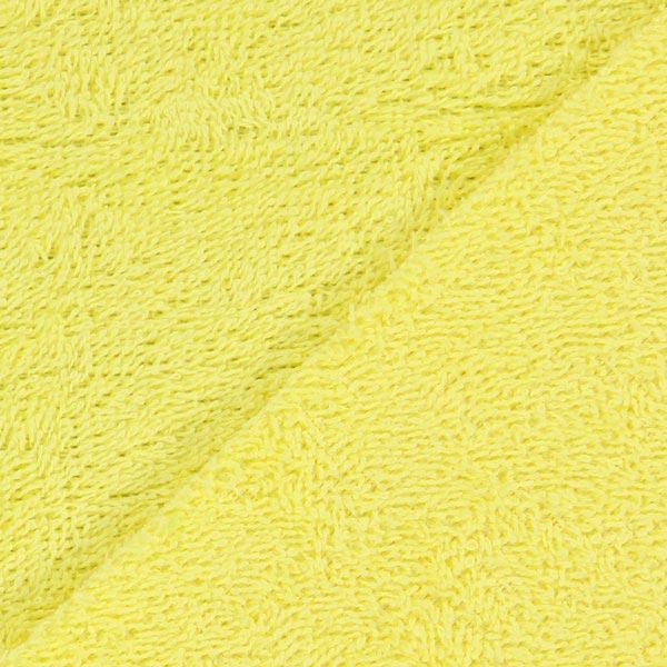 Frotté – jaune clair