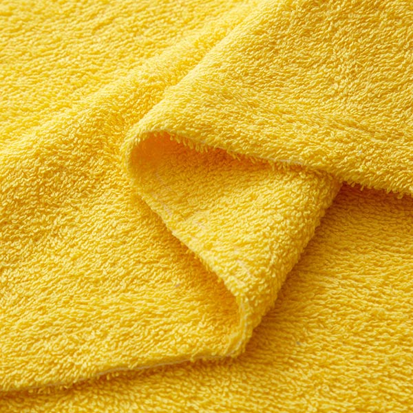 Frotteestoff – gelb