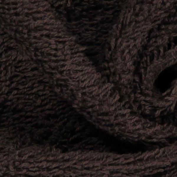 Frottee – dunkelbraun
