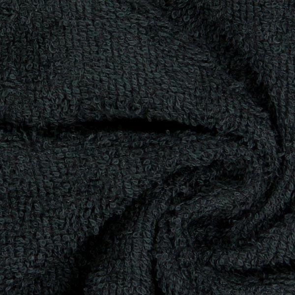Frottee – schwarz