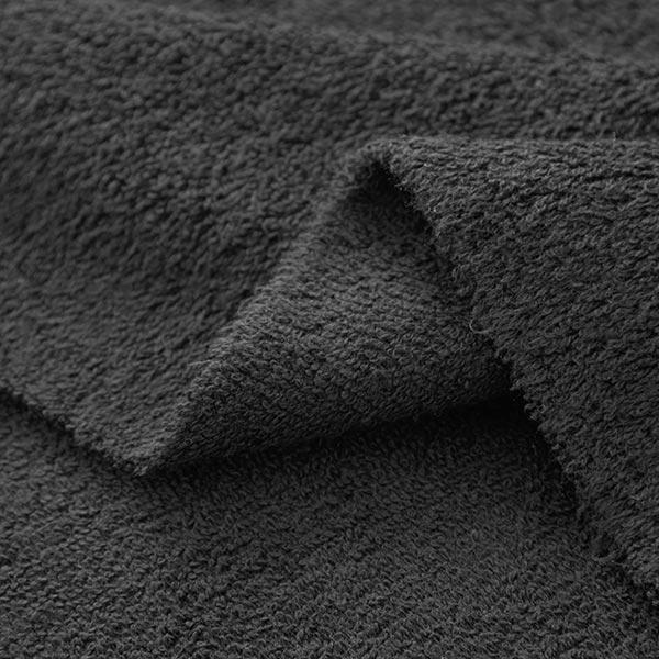 Frotteestoff – schwarz