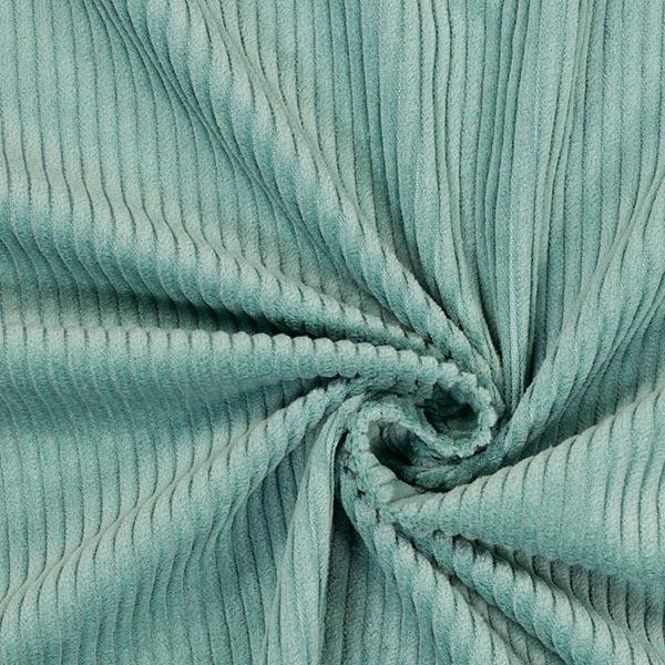Velours àgrosses côtes camaïeu – vert lumière