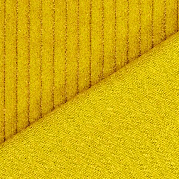 Velours àgrosses côtes camaïeu – moutarde