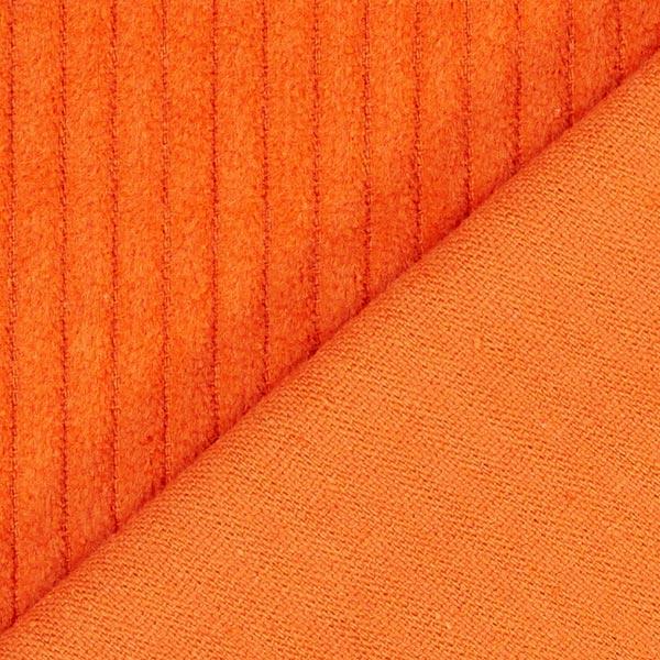 Velours àgrosses côtes camaïeu – orange