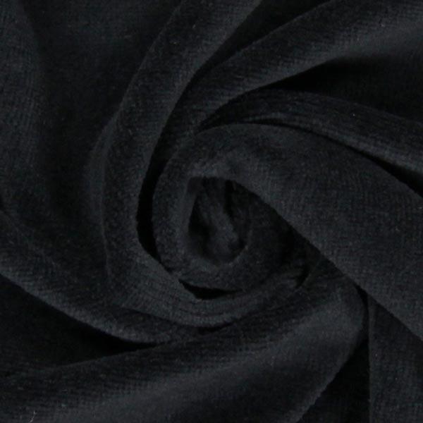Tissu Nicki Uni – noir