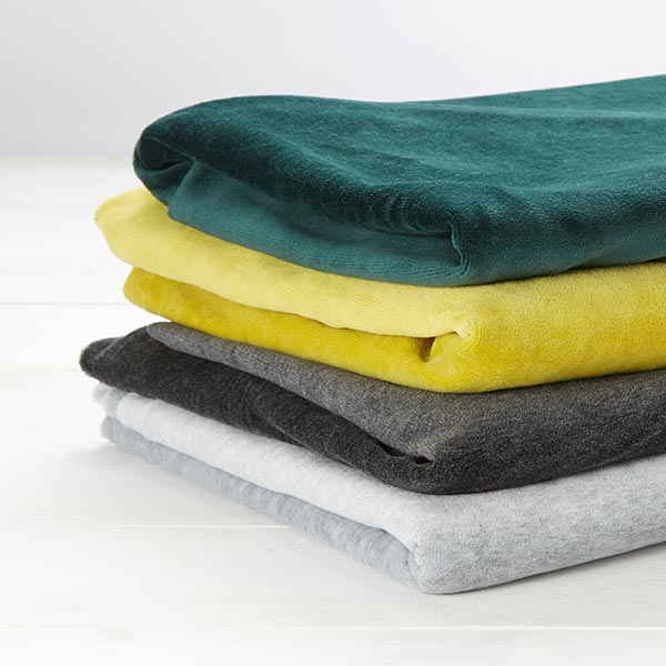 Tissu Nicki Uni – bleu clair