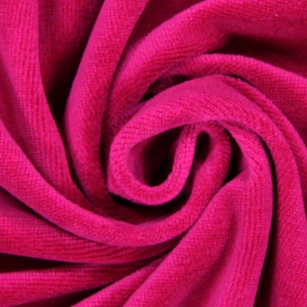 Tissu Nicki Uni – pourpre