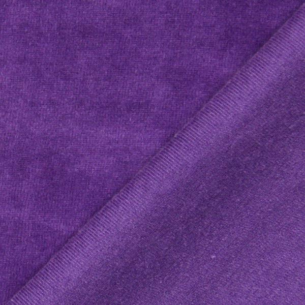 Tissu Nicki Uni – violet