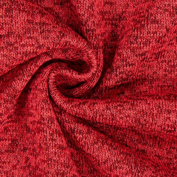 Polaire tricot – carmin