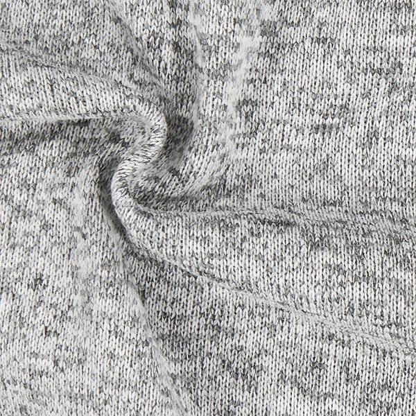 Polaire tricot – gris clair