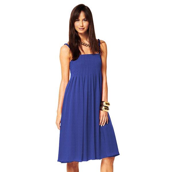 Popeline Uni – bleu roi