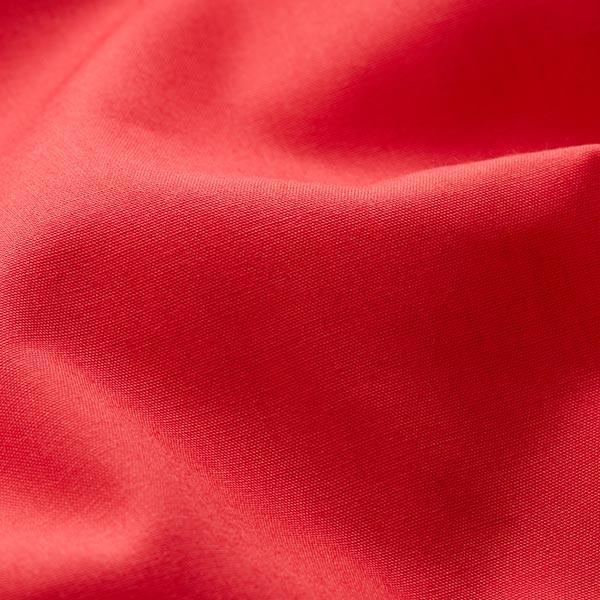 Tissu en polyester et coton mélangés, facile d'entretien – rouge