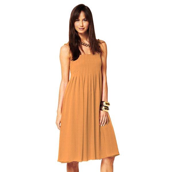 Popeline Uni – orange