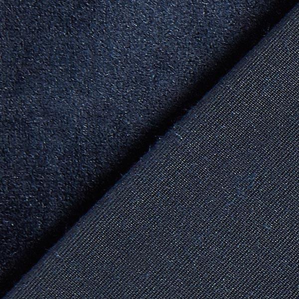 Velours stretch Tissu Nicki – bleu marine