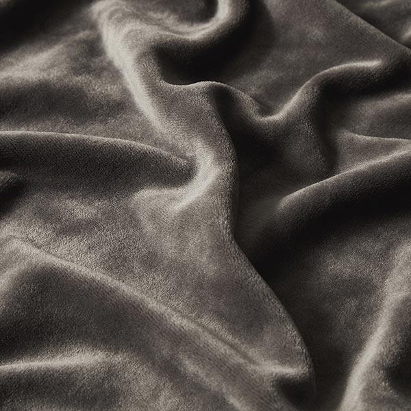 Velours stretch Tissu Nicki – gris