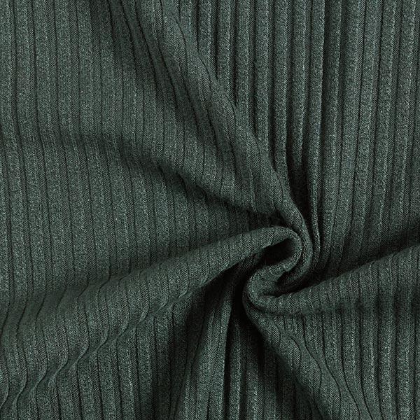 Rippenstrick – dunkelgrün