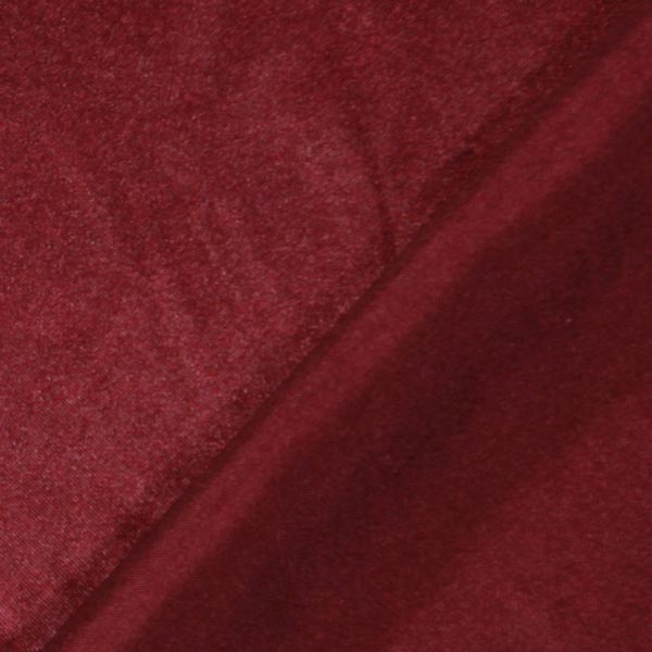 Satin polyester – rouge bordeaux