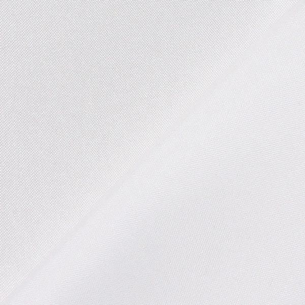 Satin polyester – blanc