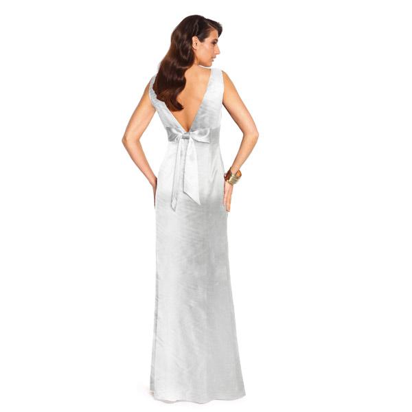 Satin mariée  – blanc