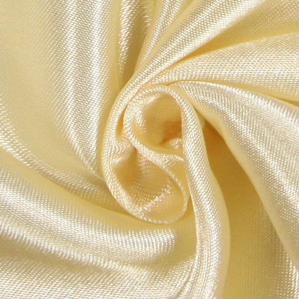 Satin mariée  – crème