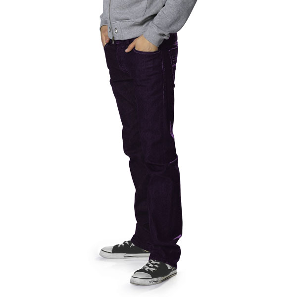 Stretch Jeans Ben – lilas