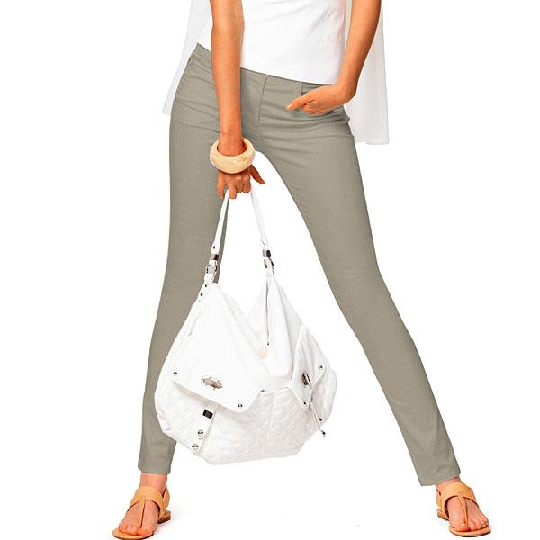 Stretch Jeans Ben – beige foncé