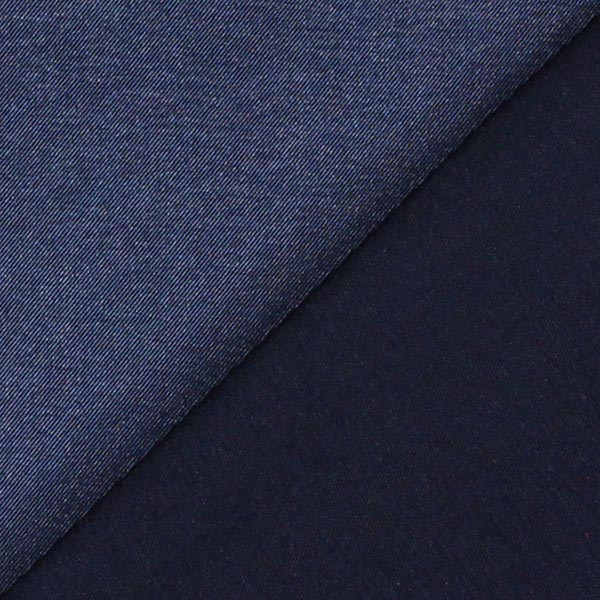 Stretch Satin – navy