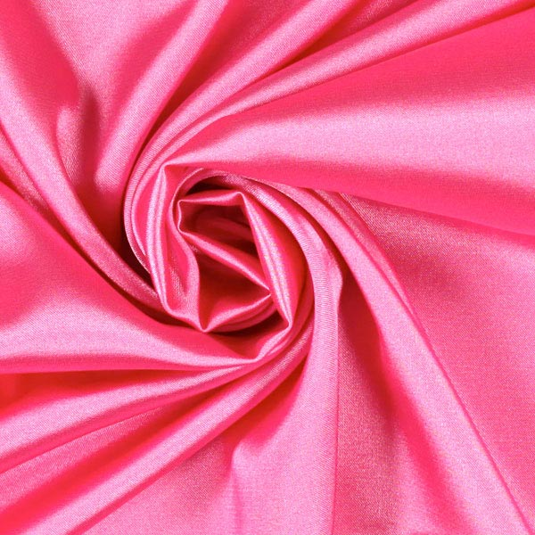 Stretch Satin – rose vif