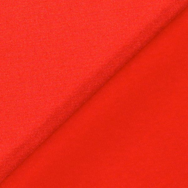 Stretch Satin – rouge vif