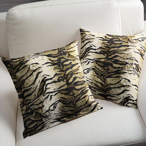 Imitation Fourrure d'Animal tigre – beige