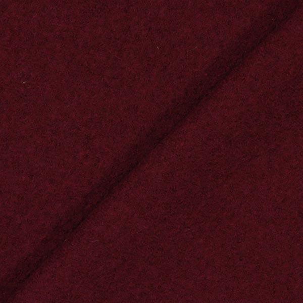 Loden foulé – rouge bordeaux